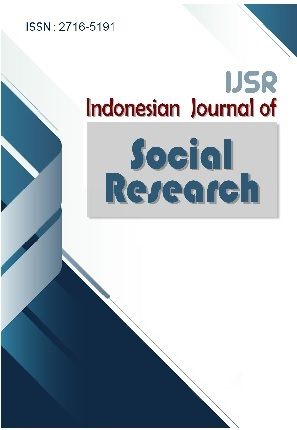 IJSR : Indonesian Journal of Social Research